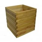 Donica osłona drewniana
