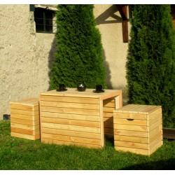 Set ogrodowy Romboid