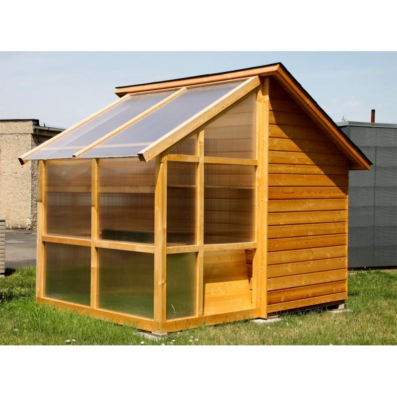 Poważne Domek ogrodowy szklarnia RF39