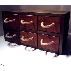 Szafka sześć szuflad