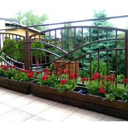 Donica balkonowa drewniana I