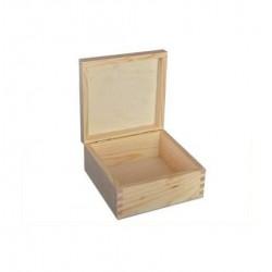 Pudełko drewniane z pokrywą