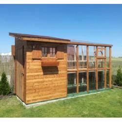 Domek ogrodowy szklarnia 2