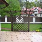 dekorative Gartenpergola