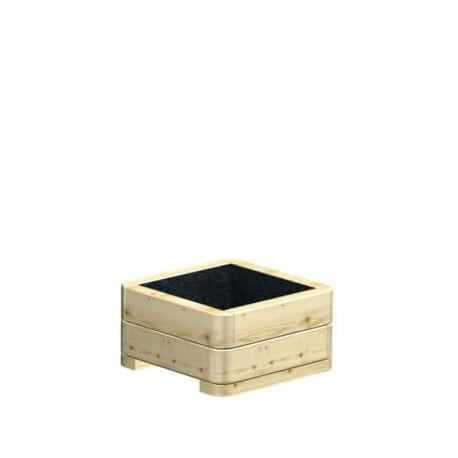 Donica drewniana 40 cm