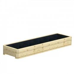 Donica ogrodowa drewniana 160 cm x 50 cm