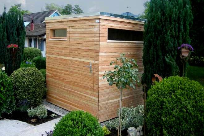 Gartenhaus Kubus