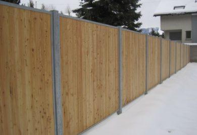 Ścianka ogrodowa pełna