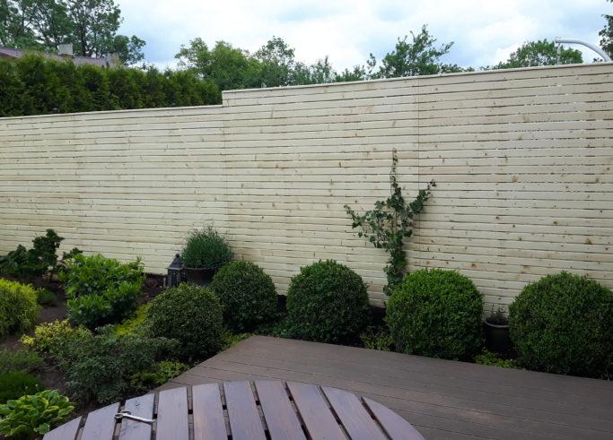 Ścianka osłonowa Romoidowa